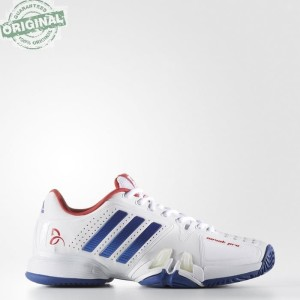 detailed look 6f4f5 abe02 Adidas Sepatu Tennis Novak Pro Ba8012 Biru Tokopedia