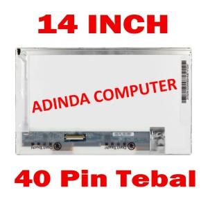 Lcd Led Asus X452 Series Tokopedia