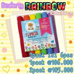Bedong Bayi Rainbow Soft 100x90cm Harga Murah Tokopedia