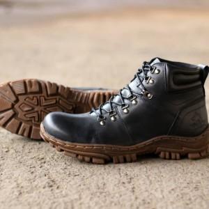 Sepatu Safety Kulit Wolf Barbet Tokopedia