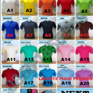 Kaos Kerah Polo Shirt Baju Polo Security Tokopedia