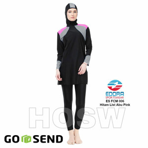 Size M Baju Renang Muslim Muslimah Aghnisan Tokopedia
