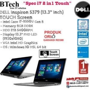 Dell Inspiron 5379 I7 8550u Win10h 8gb Hdd 1tb Intelhd620 13inch Touch Tokopedia