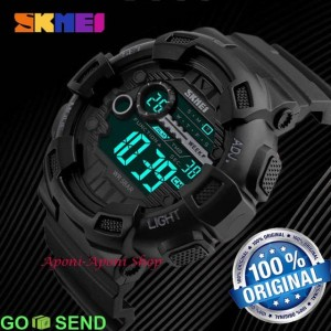 Jam Tangan Skmei 1243 Original Anti Air Outdoor Casio G Shock Jam Tangan Digital Tokopedia