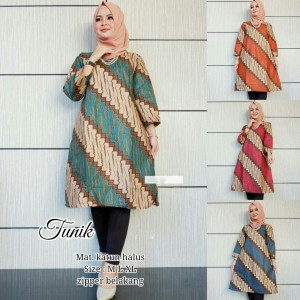 Baju Batik Tunik Dress Parang Tokopedia