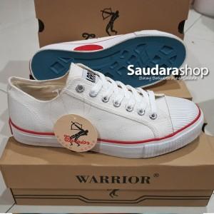 Sepatu Warrior Putih Tokopedia