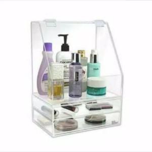 Akrilik Kosmetik Acrylic Makeup Organizer E3 Tokopedia