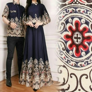 Cp Rayon Couple Pesta Baju Couple Kebaya Tokopedia