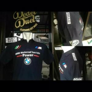 Kaos Polo Bmw Motorrad Baju Tshirt Tokopedia