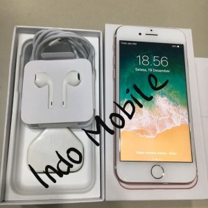 Second Iphone 7 32gb Rose Gold Fullset Tokopedia