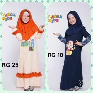 Gamis Kaos Anak Gamis Anak Baju Gamis Anak Perempuan Tokopedia