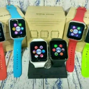 Smartwatch Apple Kw Smart Watch Jam Tangan Pria Wanita Samsung Xiaomi Mi Jaket Kaos Hp Handphone Tokopedia
