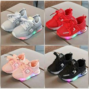 Sepatu Anak Lampu Led Sz 21 25 Sepatu Sekolah Anak Cewek Cowok Sepatu Anak Perempuan Fila Nyala Tokopedia