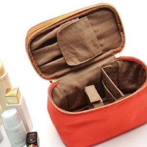 Cosmetic Bag 2 Tingkat Dalamnya Banyak Sekat Muat Banyak Kosmetik Termurah Tokopedia