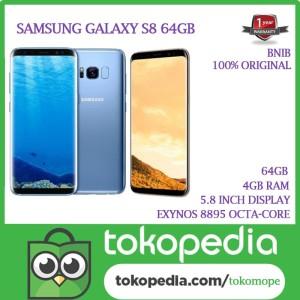 Samsung Galaxy S8 Dual Sim Fullset Tokopedia