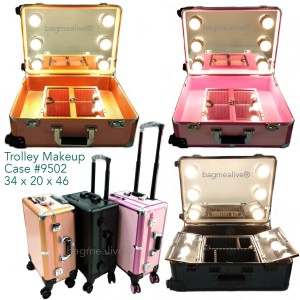 Beauty Case Tempat Makeup Kotak Kosmetik 402 Tokopedia