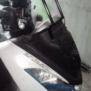 Dudukan Holder Hp Breket Lampu Yamaha Nmax Tokopedia