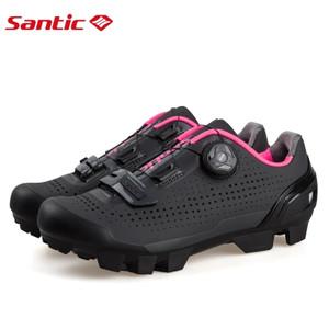 Sepatu Wanita Cleat Mtb Santic Black Pink Breathable Sepatu Sepeda Cewek Sepatu Sepeda Perempuan Mirip Sidi Sepatu Cleat Sepatu Gowes Tokopedia