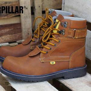 Sepatu Boots Cat Aliando Safety Tokopedia