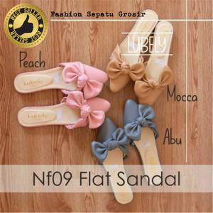 Sepatu Flat Sandal Flat Wanita Brukat Tokopedia