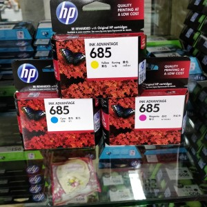 Hp 685 Cyan Tokopedia