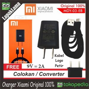 Charger Hp Xiaomi 2a Original Ori 100 Persen Chargeran Kabel Data 100 Persen Ori Tokopedia