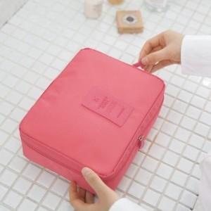 Travel Bag Tas Kosmetik Travelling Organizer Tas Multifungsi Berkualitas Tokopedia