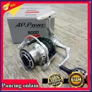 Jual Reel Pancing 8000 Ryobi AP POWER II 6 Bb Alat
