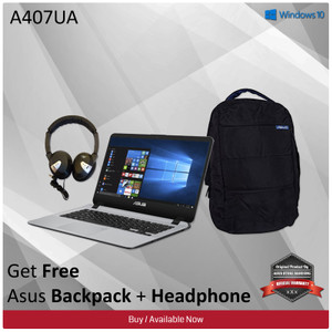 Asus A407ua Bv120t Intel Core I3 6006u Ram 4gb Hdd 1tb Fingerprint Windows 10 Grey Tokopedia