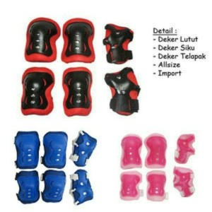 HOT PROMO Sepatu Roda BAJAJ Pink Deker Pelindung Inline Skate Satu Set 84aca34ecd