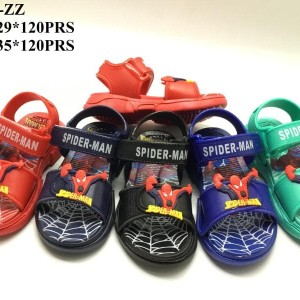 Sepatu Sandal Spiderman Anak Laki Laki Material Karet Tokopedia