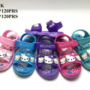 Sepatu Sandal Anak Perempuan Hello Kitty Tokopedia