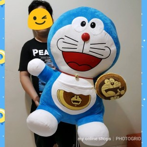 Boneka Doraemon Jumbo Giant 110cm Termurah - Info Daftar Harga ... a8bffe691c