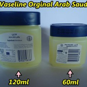 Terlaris Vaseline Arab 60ml Kecil 100 Original Kosmetik Import Saudi Tokopedia