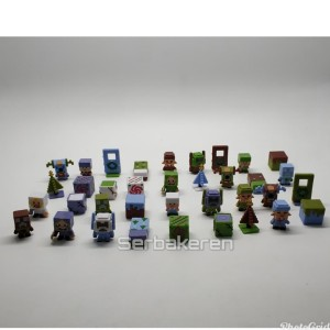 Pajangan / figure Minecraft mini figure / minifigures seri 6 natal