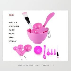 Mangkok Masker Kosmetik Warna Mask Bowl Biru Tokopedia