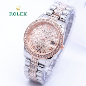 Diskon Murah Jam Tangan Wanita Rolex H157 Semi Premium Tokopedia