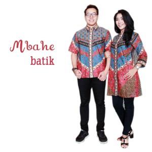 Harga Baju Gamis Batik Kombinasi Kain Polos Terbaru Topharga Web Id
