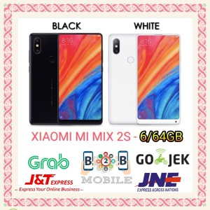 Xiaomi Mi Mix 2s Ram 6gb 128gb Brandnew Segel Original Aryastore Tokopedia