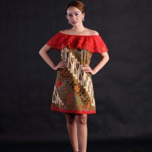 flam dres batik sunny lengan 3 4 HARGALOKA COM. Source · Baju .