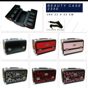 Ready Stock Beauty Case Tempat Makeup Kotak Kosmetik 1401 Putih Tokopedia