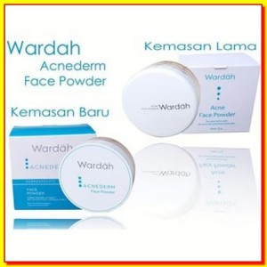 Kosmetik Wardah Acne Face Powder Tokopedia