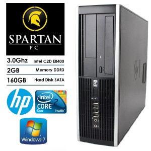 Pc Hp Desktop Core2duo Tokopedia