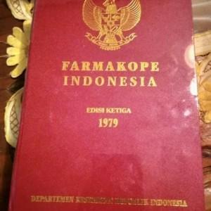 Jual Buku BUKU FARMAKOPE INDONESIA EDISI KE 3