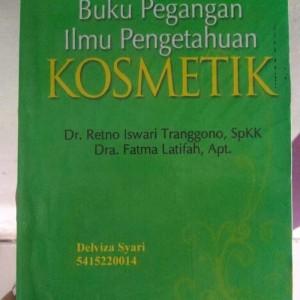 Buku Pegangan Ilmu Pengetahuan Kosmetik Tokopedia