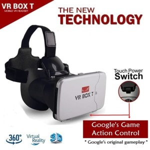 Vr Box Cardboard Virtual Reality Gear Second Generation Hp Smartphone Home Theater Imax Goggle Kacamata Vr Tokopedia