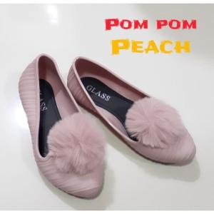 Sepatu Anak Perempuan Pom Pom Shoes Tokopedia