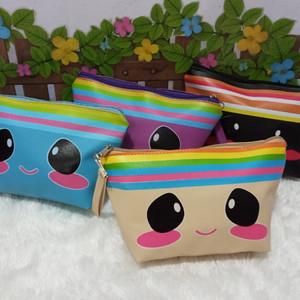Tas Kosmetik Dompet Make Up Dompet Kosmetik Cube Pouch Tokopedia