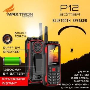 Handphone Maxtron P12 Bomba New Big Speaker Tokopedia