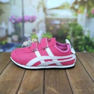 Sepatu Anak Pink List Putih Assics Tokopedia